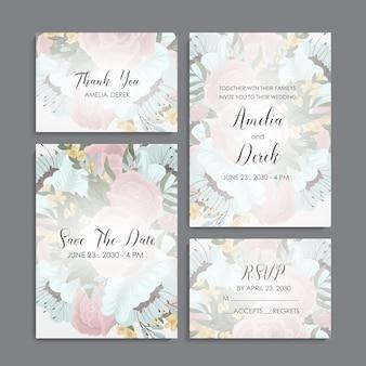 Plantilla de diseño de tarjeta de nombre de tarjeta de visita
