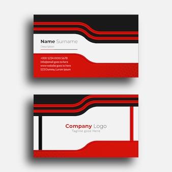 Plantilla de diseño de tarjeta de presentación creativa