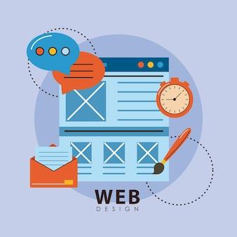 Plantilla y diseño web