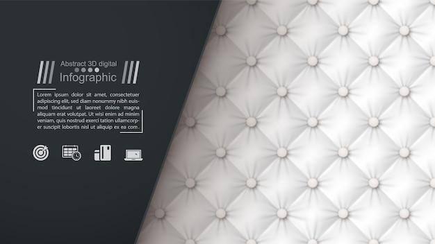 Plantilla de documento de negocios - fondo textil