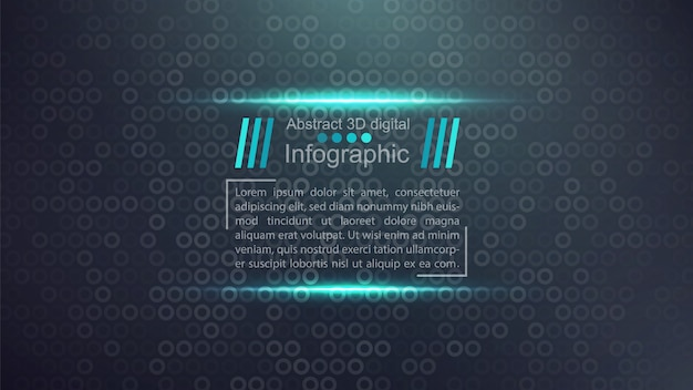 Plantilla de documento de negocios - idea de infografía