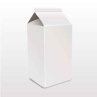 La plantilla de envases de cartón.