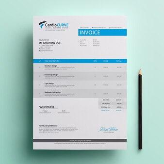 Plantilla de factura