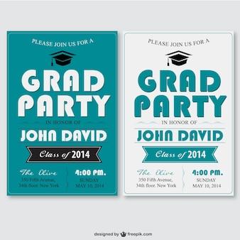 Plantilla de fiesta de graduación