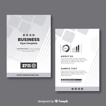 Plantilla flyer de negocio
