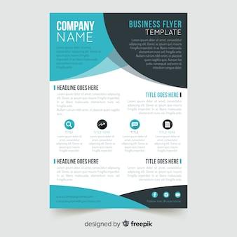 Plantilla de flyer para negocio