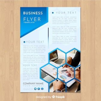 Plantilla de flyer de negocios