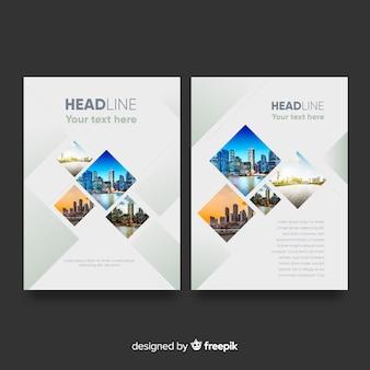 Plantilla de folletos de negocios