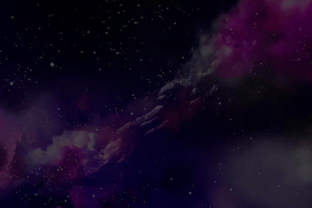 Plantilla de fondo abstracto de galaxia