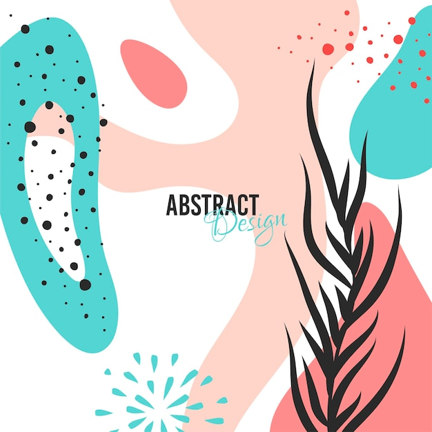 Plantilla de fondo abstracto