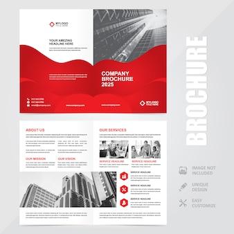 Plantilla de fondo de folleto de aviador a4 multiusos corporativo