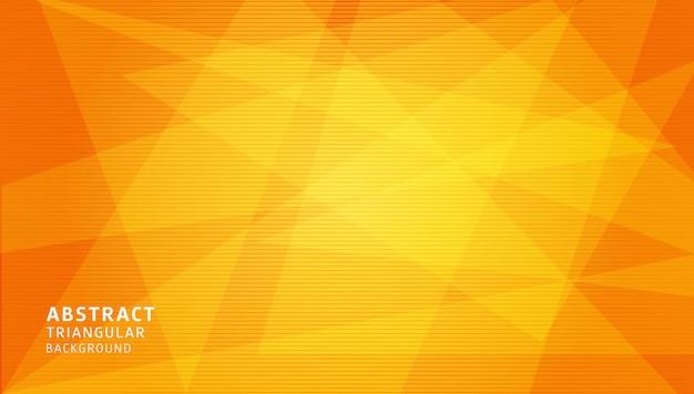 Plantilla de fondo geométrico degradado abstracto