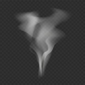 Plantilla de forma de humo