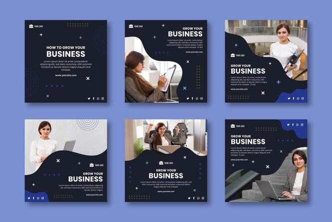 Plantilla general de publicación de instagram de negocios