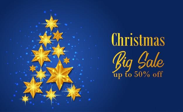 Plantilla de gran venta de navidad
