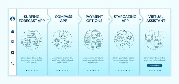 Plantilla de incorporación de capacidades de smartwatch