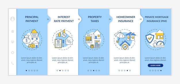 Plantilla de incorporación de componentes de préstamos hipotecarios