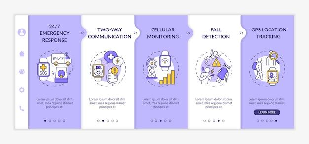 Plantilla de incorporación de funciones de salud de smartwatch