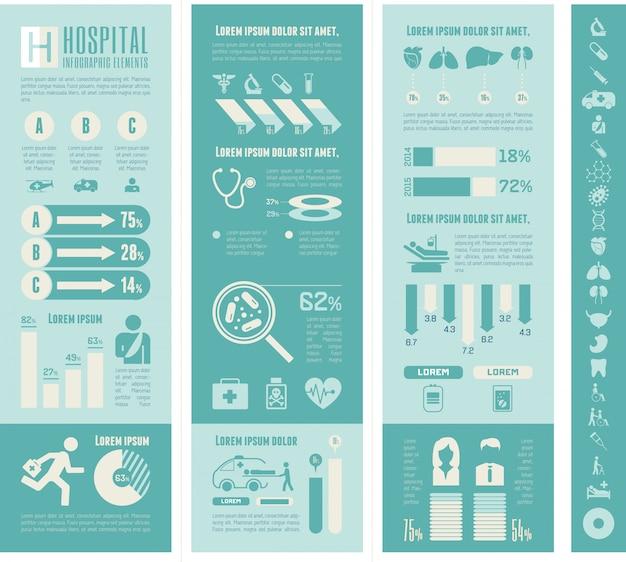 Plantilla de infografía de maternidad.