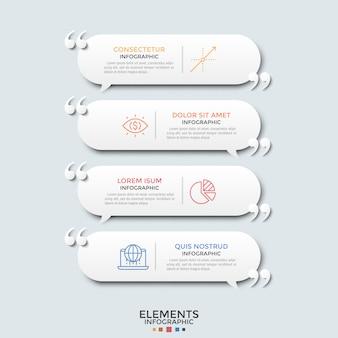 Plantilla de infografía moderna