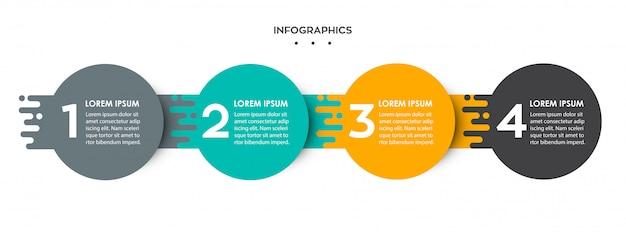 Plantilla de infografía
