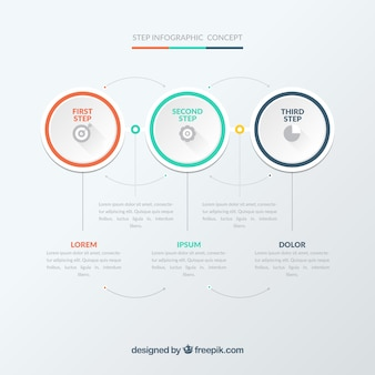 Plantilla infográfica moderna