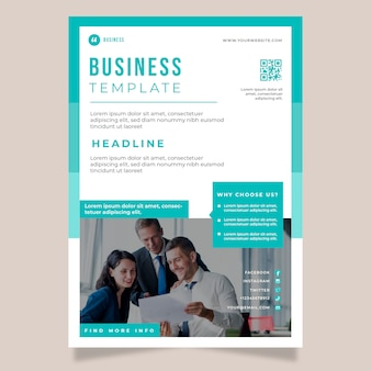 Plantilla de información empresarial