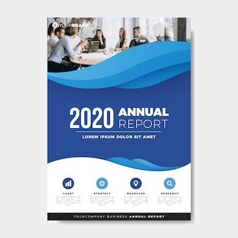 Plantilla de informe anual de compañeros de trabajo