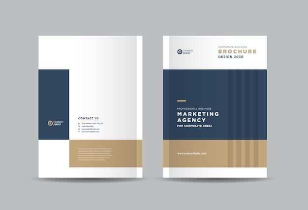 Plantilla de informe anual empresarial