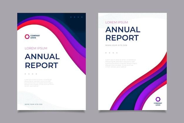 Plantilla de informe anual
