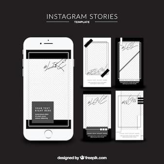 Plantilla de instagram stories