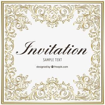 Plantilla de invitación ormanetal