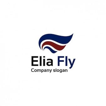 Plantilla de logo de compañía aérea