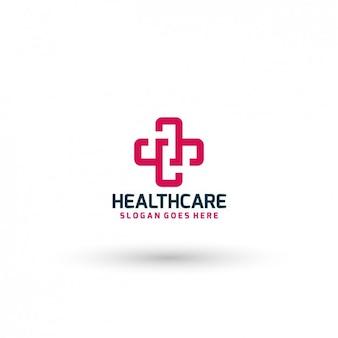 Plantilla de logo de hospital