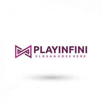 Plantilla logo infinito