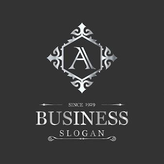 Plantilla de logo de negocios de lujo