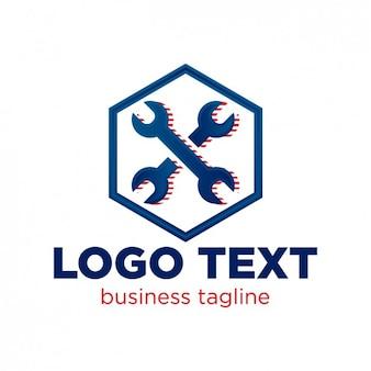 Plantilla de logo de taller