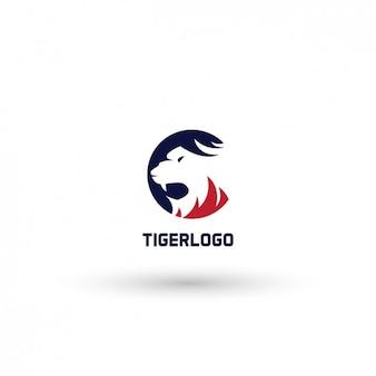Plantilla de logo de tigre