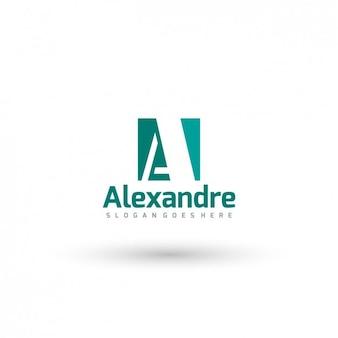 Plantilla de logo tipográfico de negocio