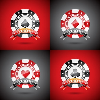 Plantilla de logos de casino