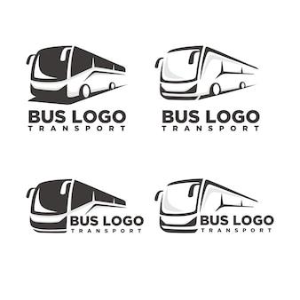 Plantilla de logotipo de autobús