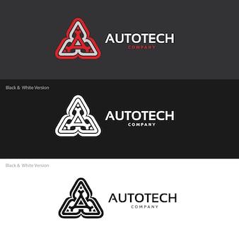 Plantilla del logotipo del automóvil y del automóvil.