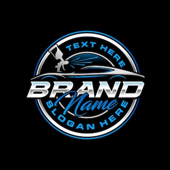 Plantilla de logotipo de autopaint