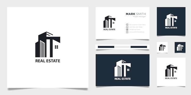 Plantilla de logotipo de bienes raíces