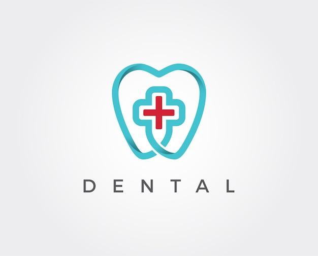 Plantilla de logotipo de clínica dental