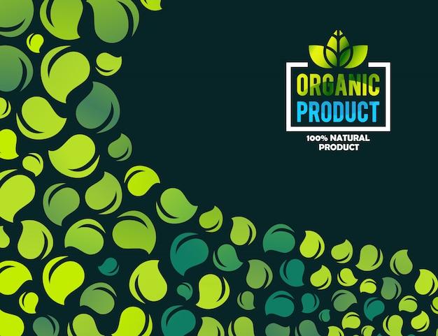 Plantilla de logotipo de concepto de casa verde creativa