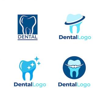 Plantilla de logotipo dental