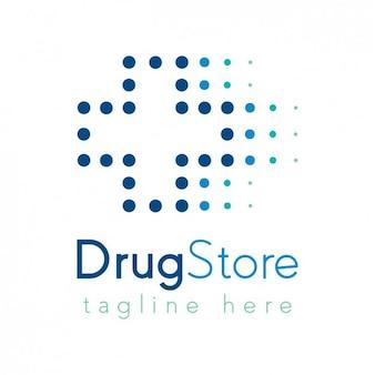 Plantilla logotipo de farmacia