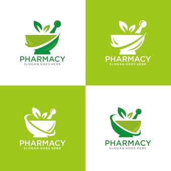 Plantilla de logotipo de farmacia