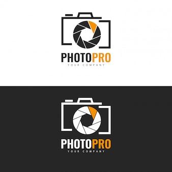 Plantilla de logotipo de foto